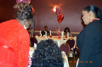 Overcomers Christian Fellowship Church's Annual Valentine's Day Party