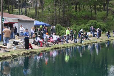 Fishing Derby, Day 1 of 2, Kellner's Dam, Tamaqua (4-28-2012)