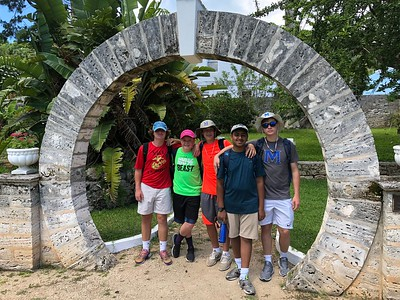 Bermuda Trip, Summer 2018 (middle school)