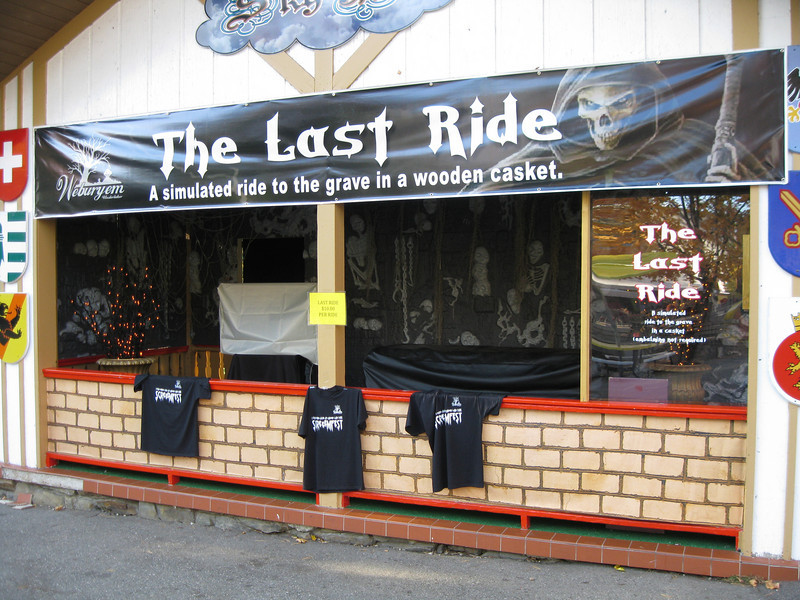 The Last Ride at the Sky Ride building.
