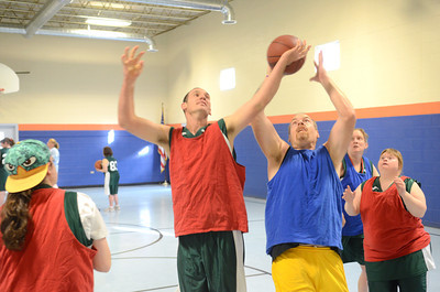 Wildcats Special Olympic Basketball Team