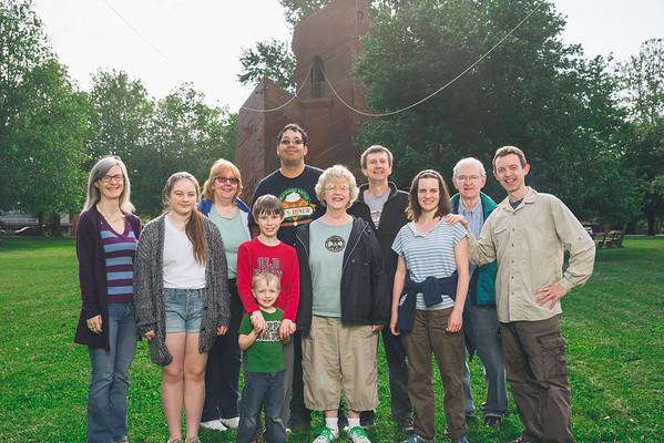 Family Camp Family Portraits