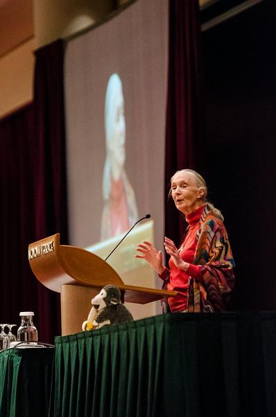 Jane Goodall - Earth Day 2013