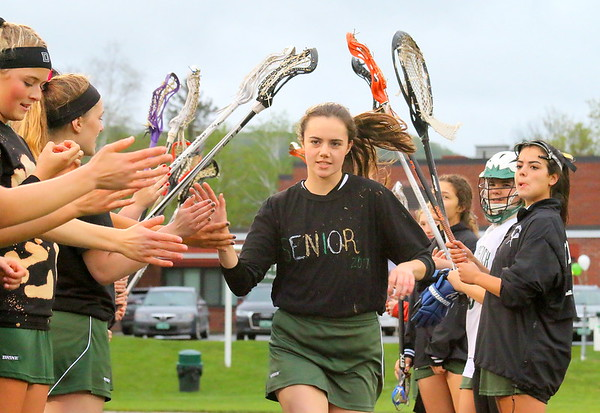 WUHS Girls Lacrosse, Senior Game 2017