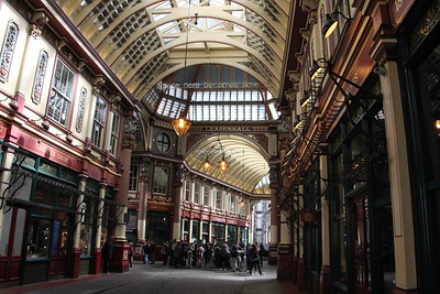 Leadenhall Market - 11 April 2015