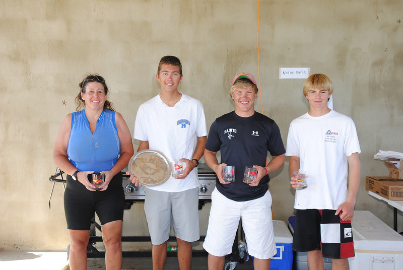 Standard winners - Karen Long, Scott Houck, Kyle Swenson, Matthew Schofield.