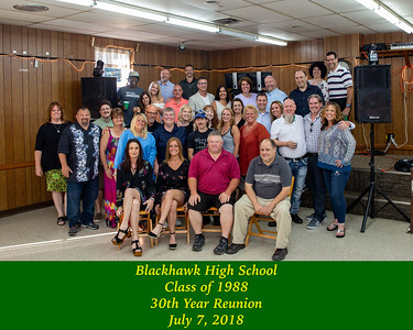Blackhawk Class of 88--30th Year