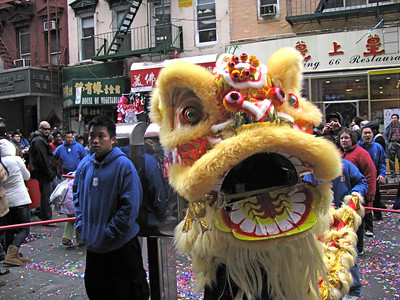 Chinatown Parade<br>February 17, 2008