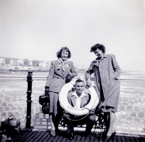 Brighton: Brrrrr! May 1949