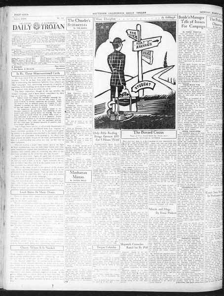 Daily Trojan, Vol. 23, No. 112, March 28, 1932