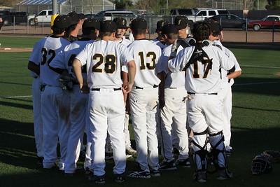 2012 GHS JV Baseball vs Desert Ridge 3-20-12