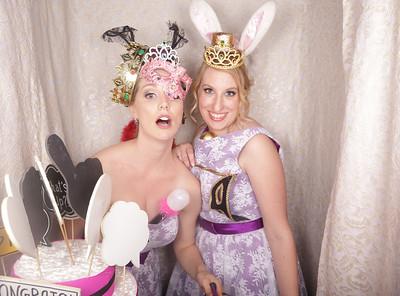 Locky & Em's Wedding Photobooth Photos