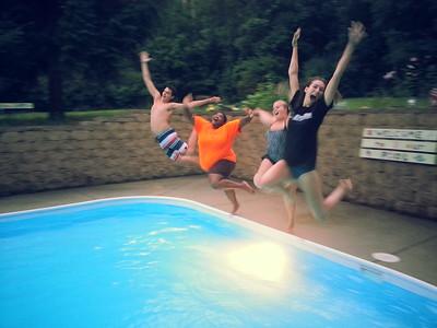 HSM Swim Party & Cookout (aug 2015)