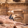 Bedouin on a Break, Petra, Jordan