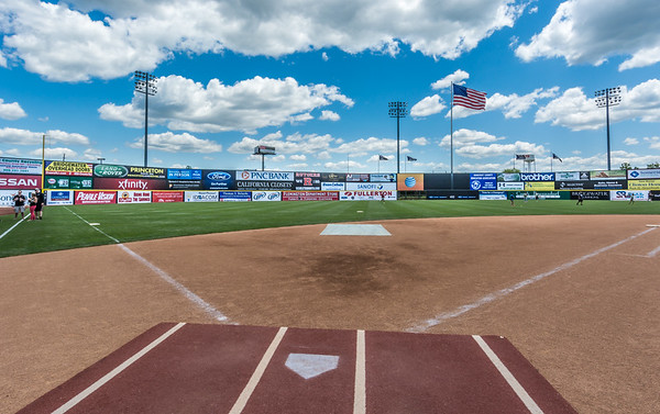 Tom Alessi memorial at The Somerset Patriots Statium - March 31, 2014