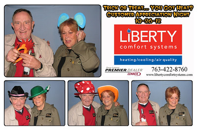 Liberty customer appreciation party