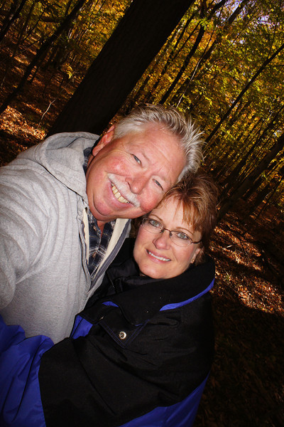 Joy and Marty in the woods.jpg