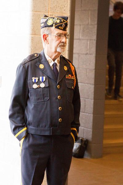 2015 Veterans Day Assembly BMS