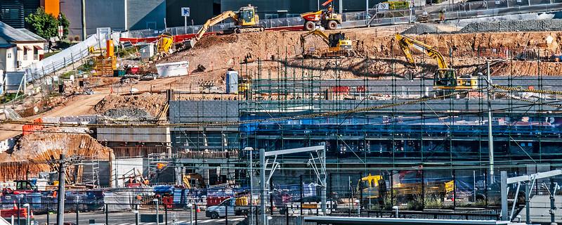 Gosford Hospital building progress. May 18, 2018.  (h20ed).