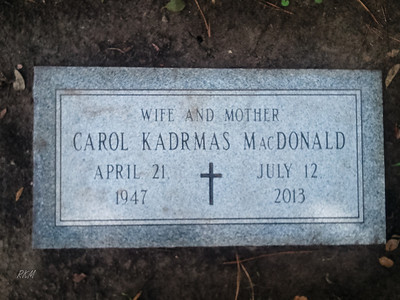 2013-08-17 Carol Kadrmas MacDonald Memorial