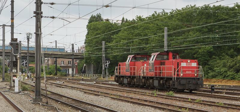 DBS-NL 6504+6508 in Bressoux.
