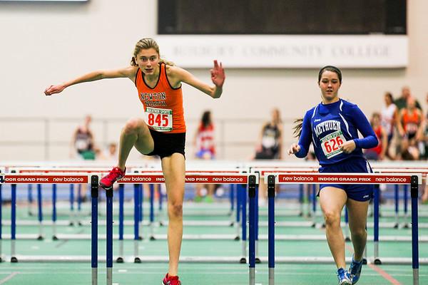 2013 Newton North Girls Track Highlights