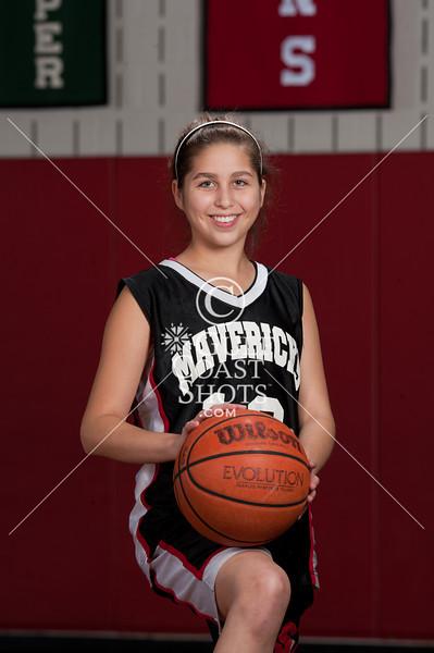 2010-12-08 Basketball Girls SJS 8A Portraits