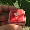 2.13ct Antique Pear Shape Diamond, GIA I, VS2 37