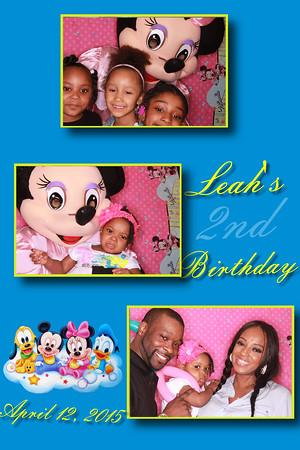 Leah's Disney Birthday 4/12/2015