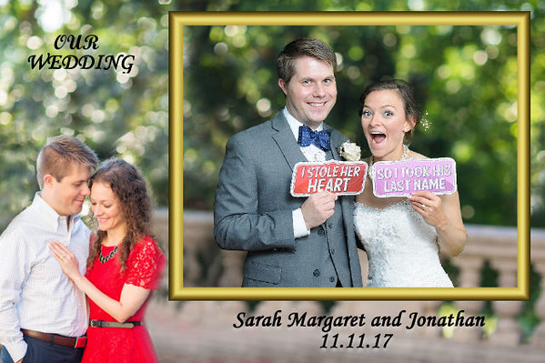 Sarah Margaret and Jonathan Wedding Photobooth