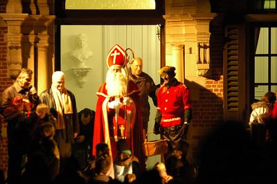 Lichtstoet en Sinterklaas 2008 - Aankomst Sinterklaas