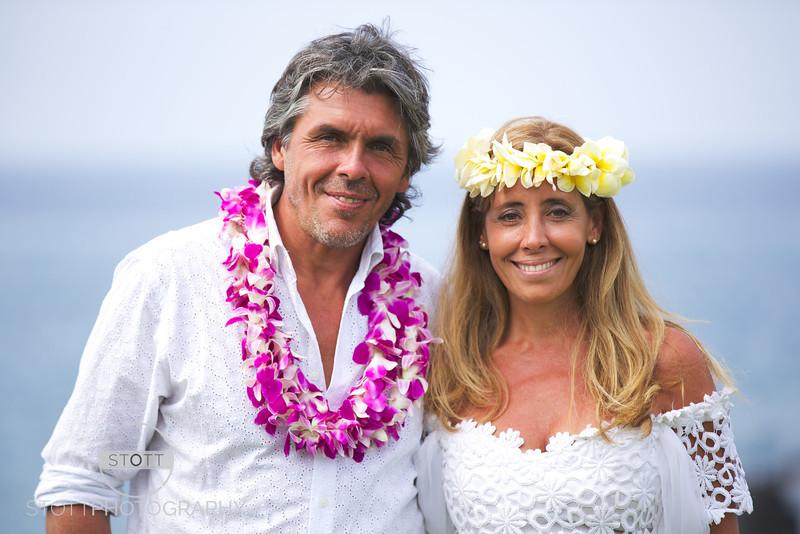 Renovando Los Votos en Hawaii