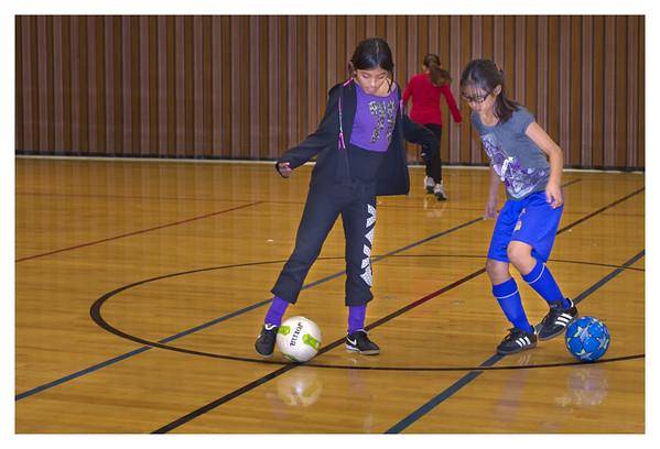 Futsal Practice 01.23.12