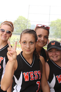 West Softball vs Peebles