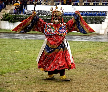 Tsechu - The  Masked Dances