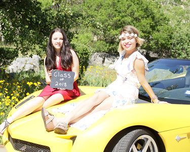 Two Girls, a Vette, and a Castle