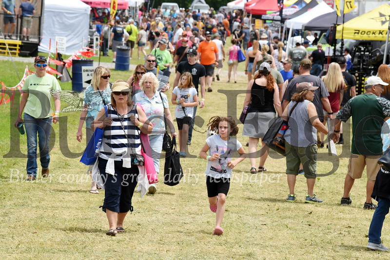 Harold Aughton/Butler Eagle: Several thousand jeep enthusiasts gathered at Cooper's Lake for the 9th Annual Bantam Jeep Festival, Saturday, June 8.