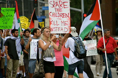 STOP THE GENOCIDE OF GAZA ~ The March
