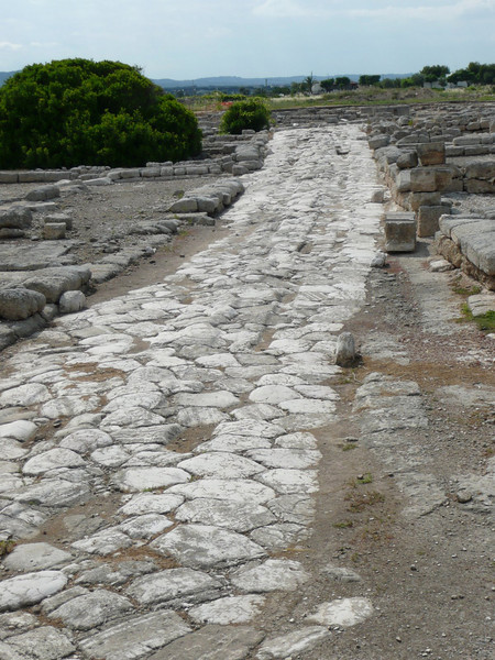 Egnazia - Via Traiana, built between 108 & 111 A.D.