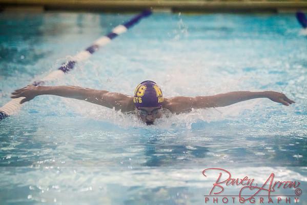 Swimming vs Southside 12-10-2013