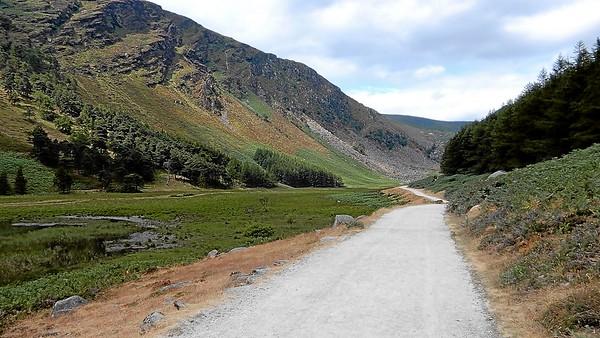 Glendalough - Miner's Village trail
