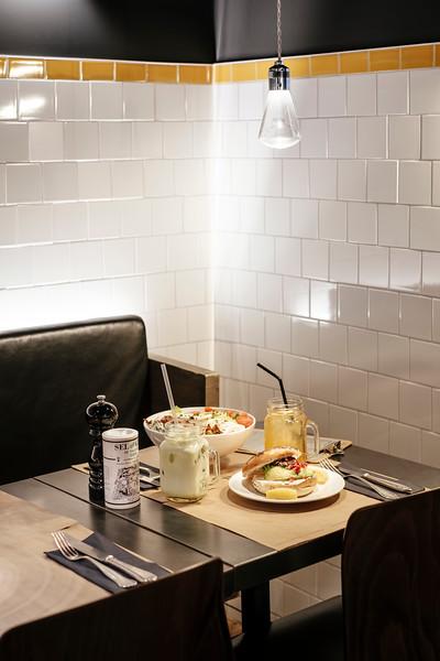 Food at Restaurant Marcel Geneva
