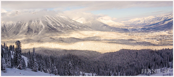 Winter in Fernie, British Columbia