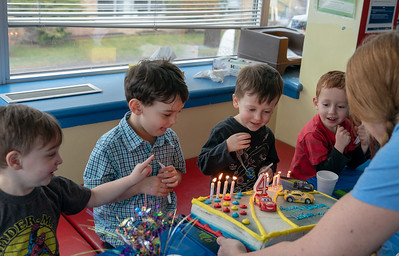Alex & Lachlan's 4th Year Birthday Party