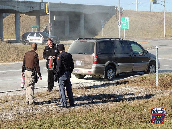 Vehicle fire on November 29, 2015