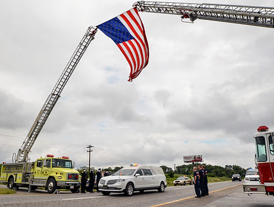 Funeral for Hymera Fire Chief Clay Shidler