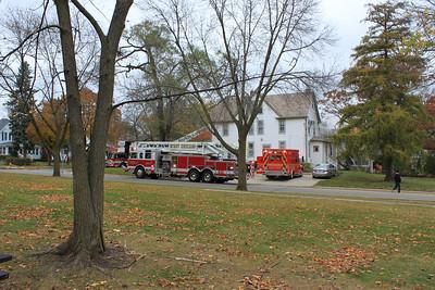 Wheaton Box Alarm Fire 10-28-2010