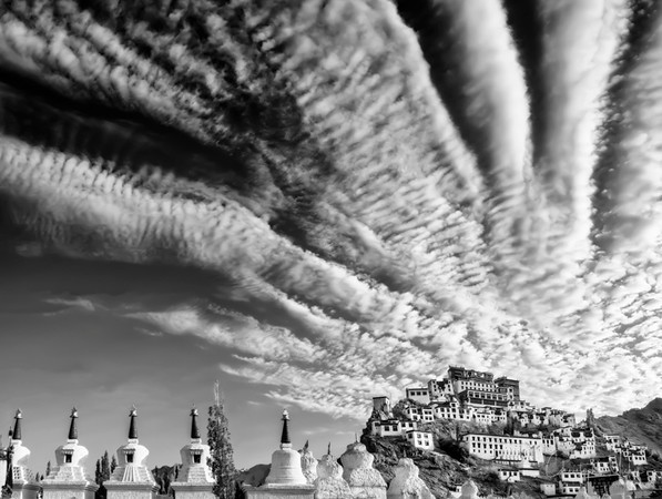 Cirrus Above Thiksey