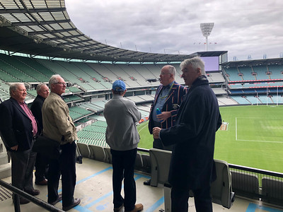 MCG Tour and Lunch