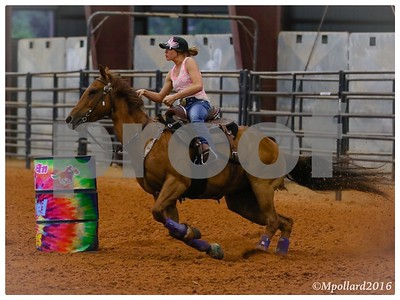 Barrel Racing - 2016